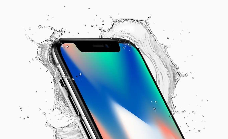 Apple iPhone X water resistant