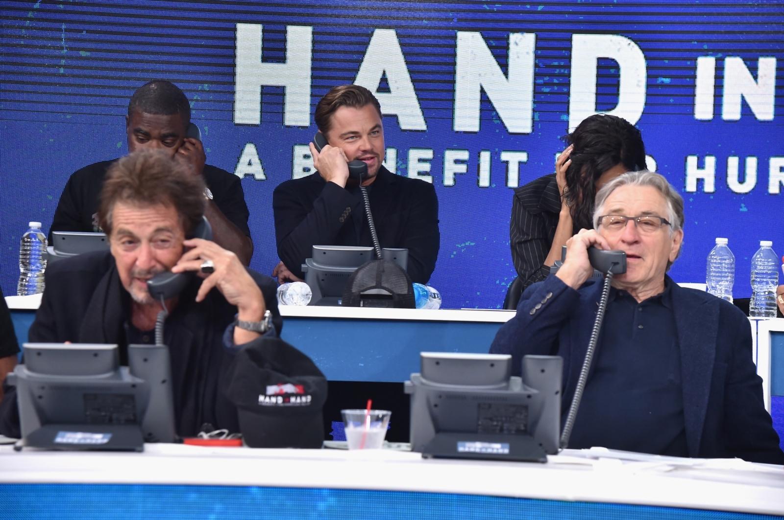 Al Pacino, Leonardo DiCaprio, Robert De Niro
