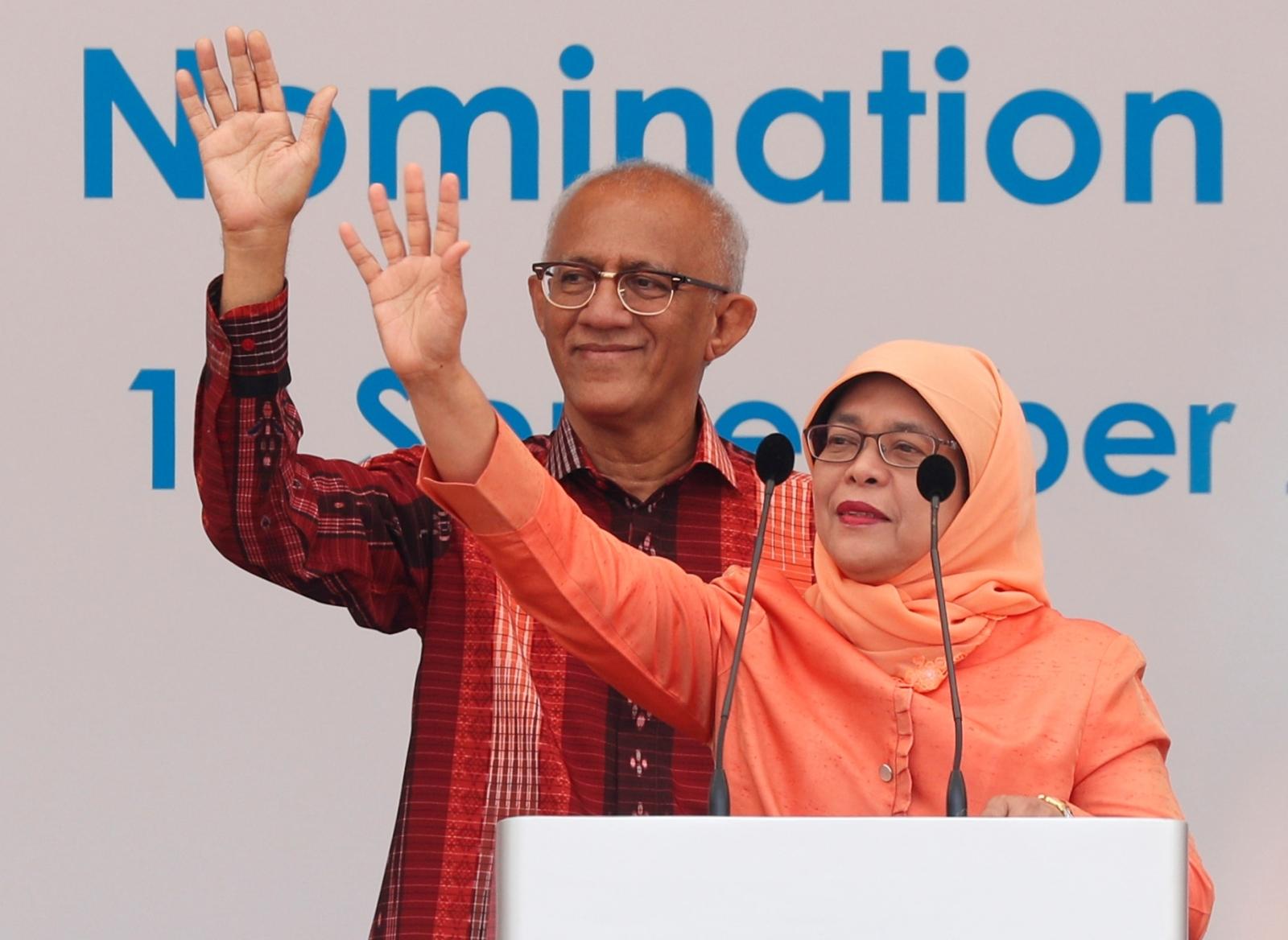 Singapore president-elect Halimah Yacob