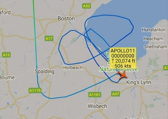 RAF giant penis GPS prank