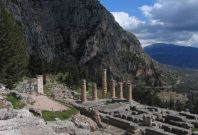 Temple of Apollo Delphi
