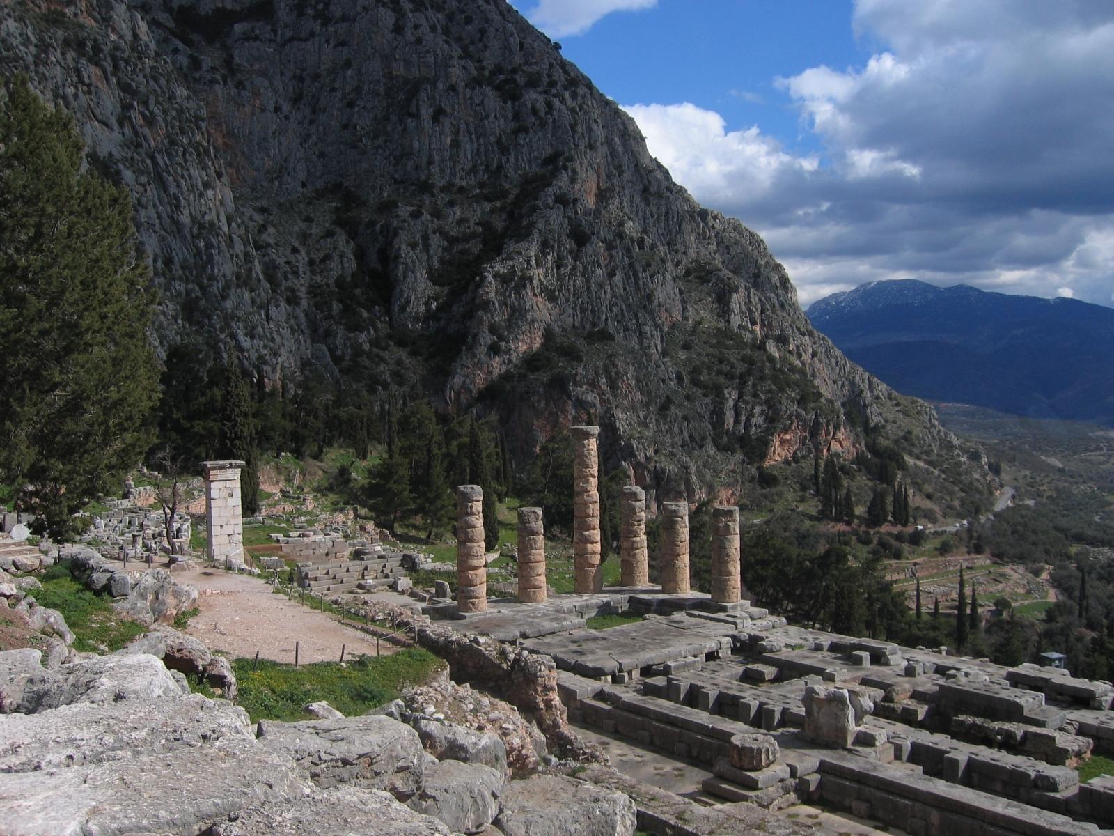 Temple of Apollo Delphi