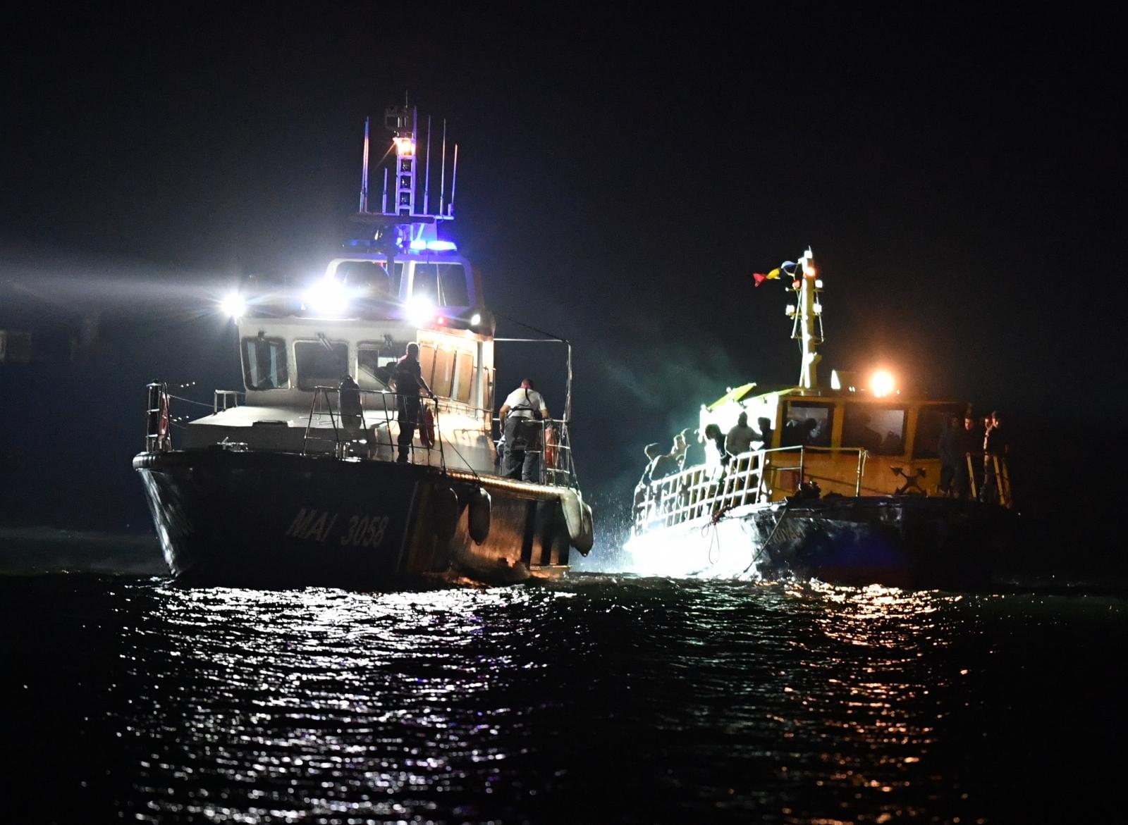 Romania Migrant Rescue Black Sea