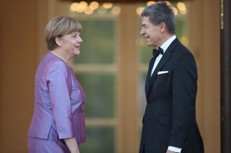 Angela Merkel and husband Joachim Sauer