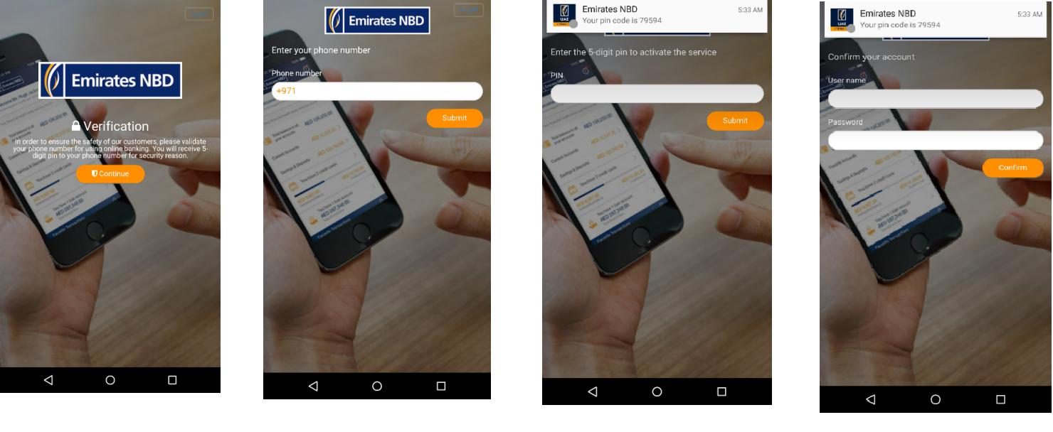 UAE BankBot app