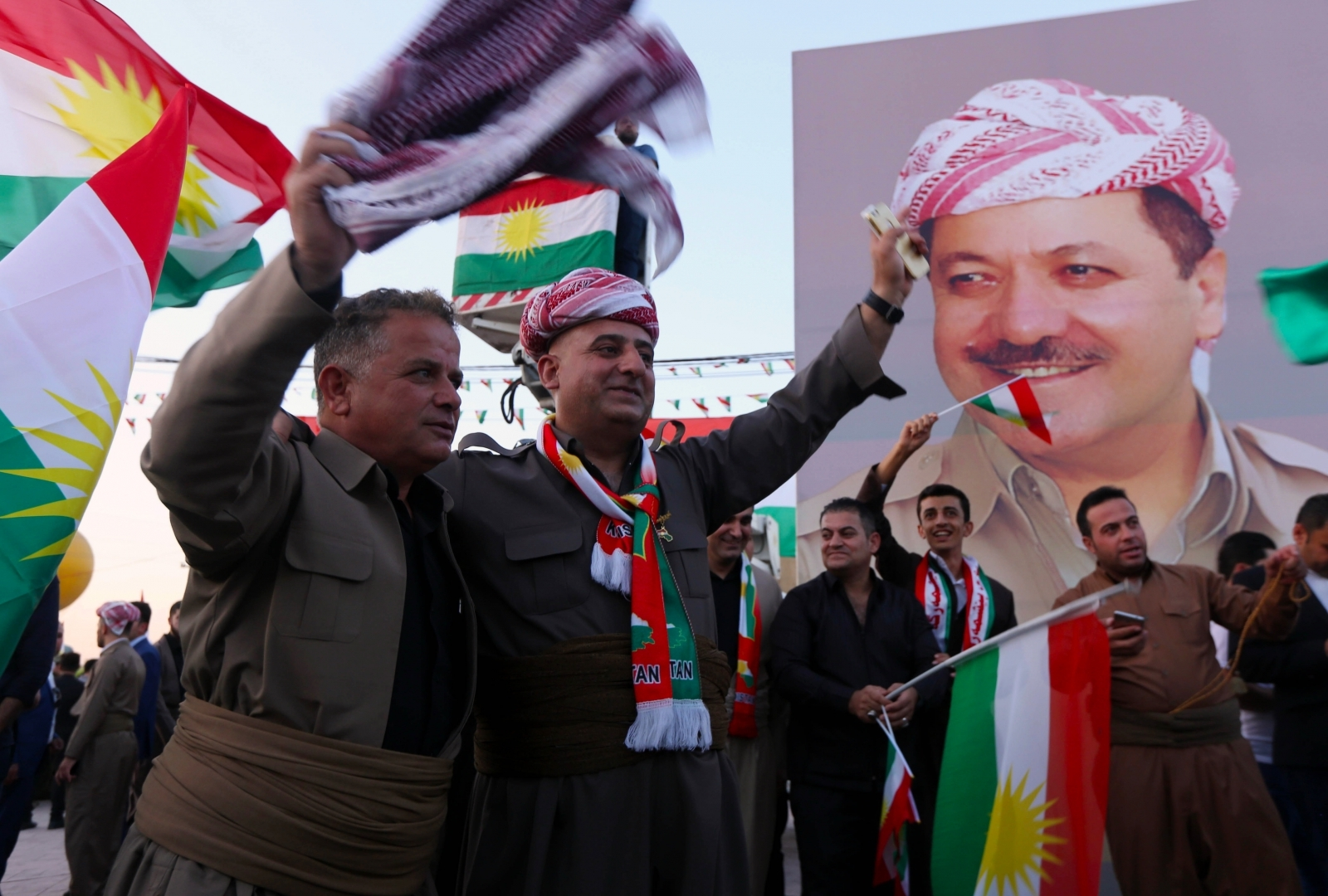 Iraq Kurds Turkey Independence