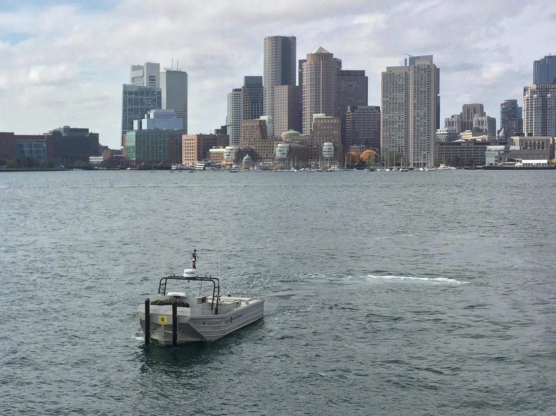 Sea Machines autonomous boat