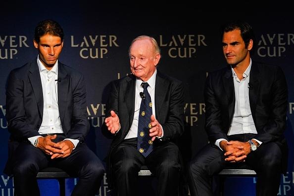Nadal, Laver and Federer