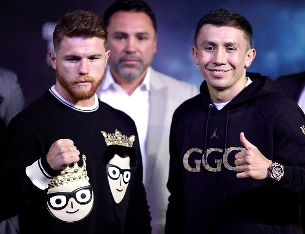 Canelo Alvarez and Gennady Golovkin