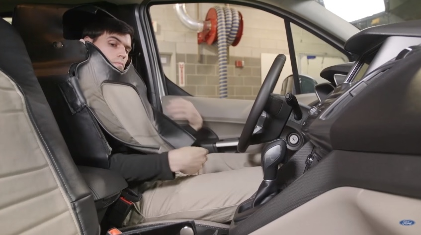 Ford car seat disguise,