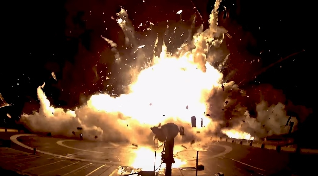 Elon Musk tweets video of SpaceX landing bloopers