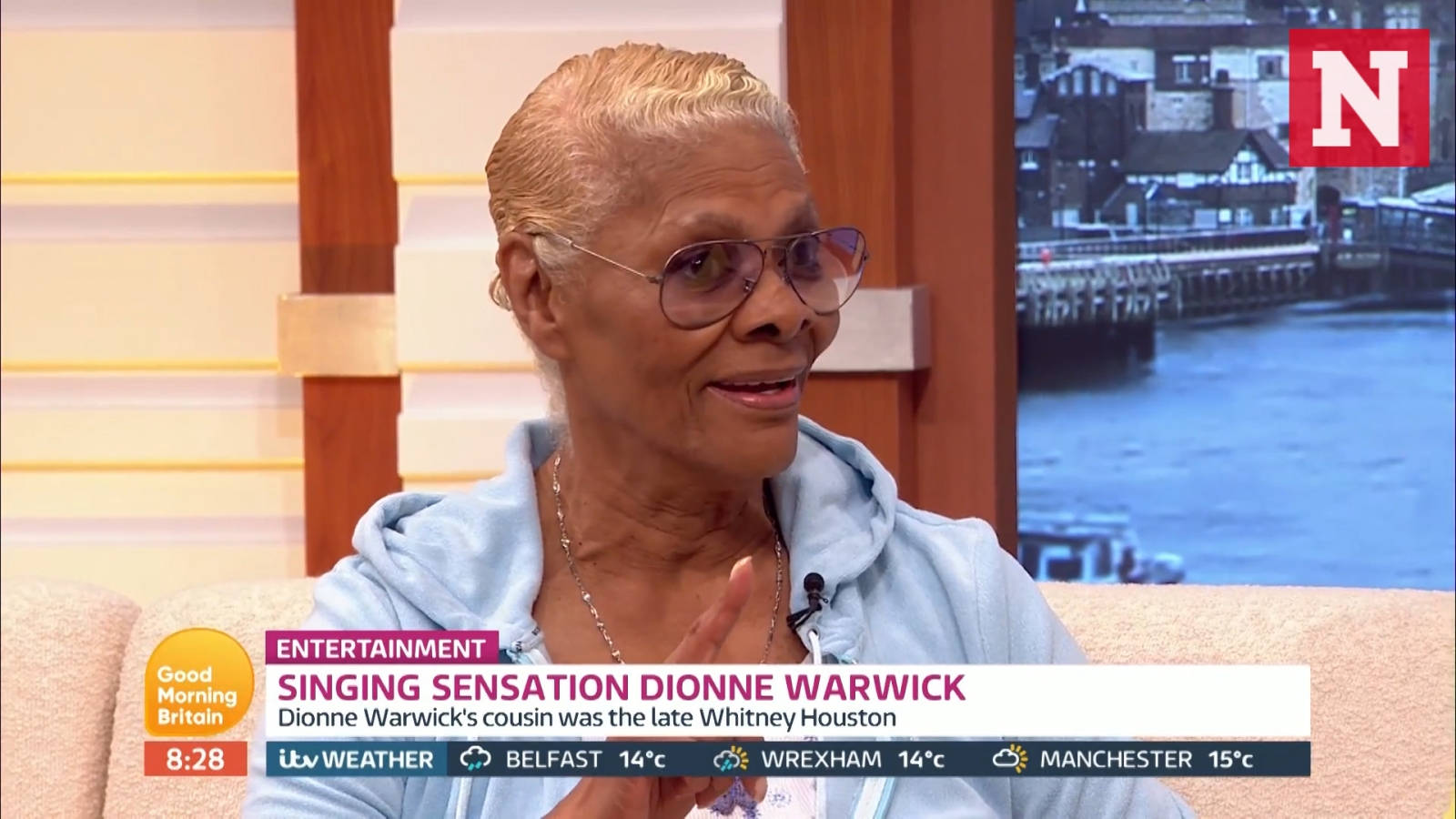 Dionne Warwick slams Susanna Reid for trying to 'hurt' her with Whitney Houston questions