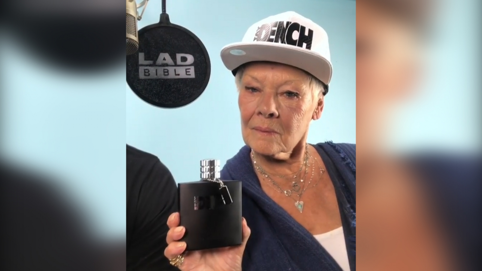Lethal Bizzle and Judy Dench team up in Instagram video