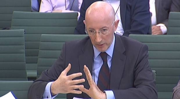 The HMRC's Jim Harra who told MPs a merged border force and tax checking operation will need up to 5,000 extra staff