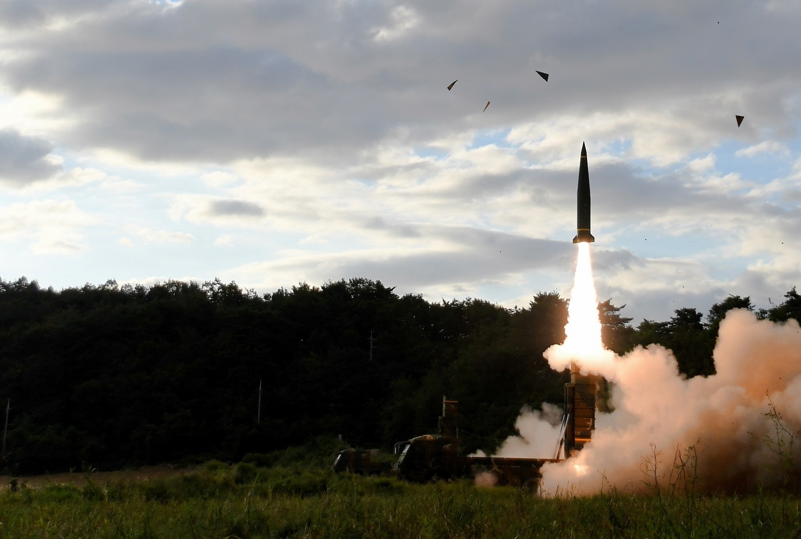 South Korea missiles against North Korea