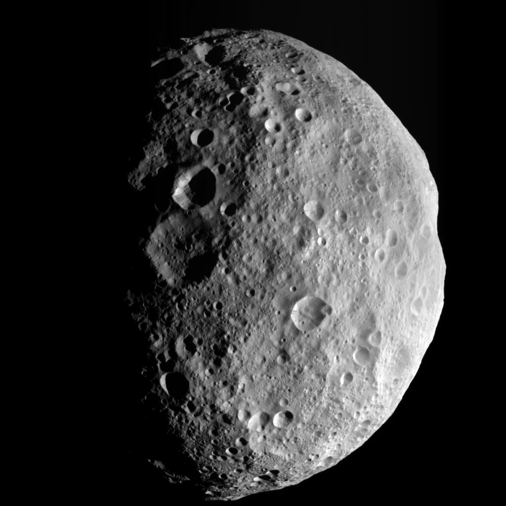 Asteroid Vesta: Solar System's Second-largest Asteroid May