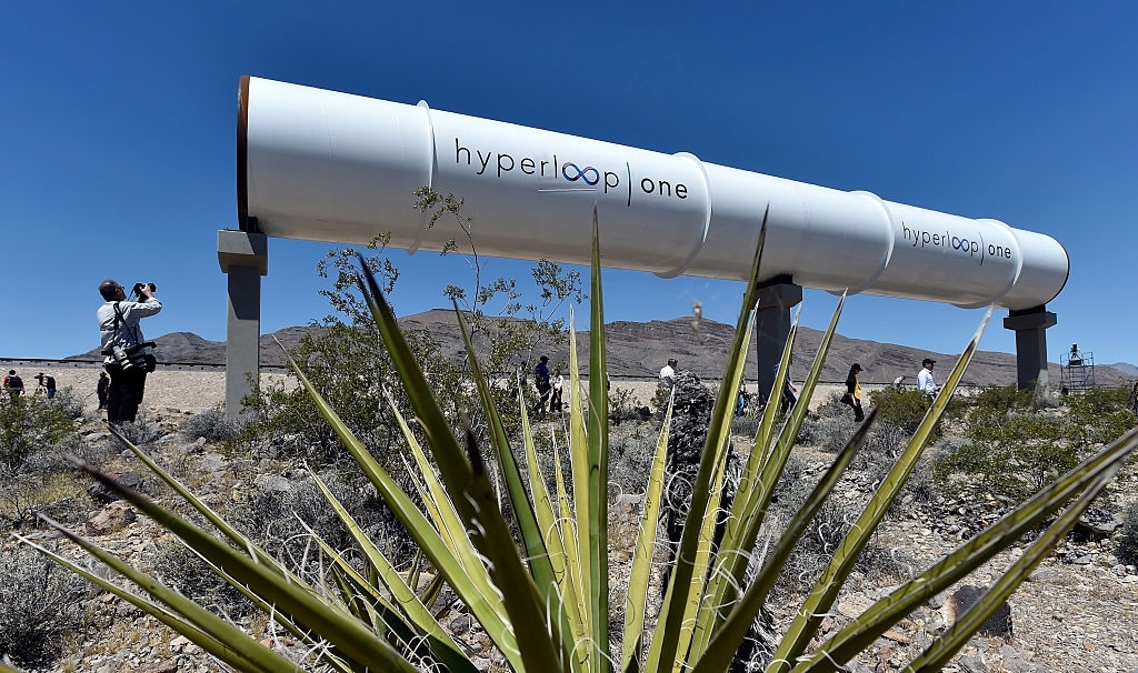 Hyperloop one routes