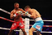 Kell Brook facing Gennady Golovkin