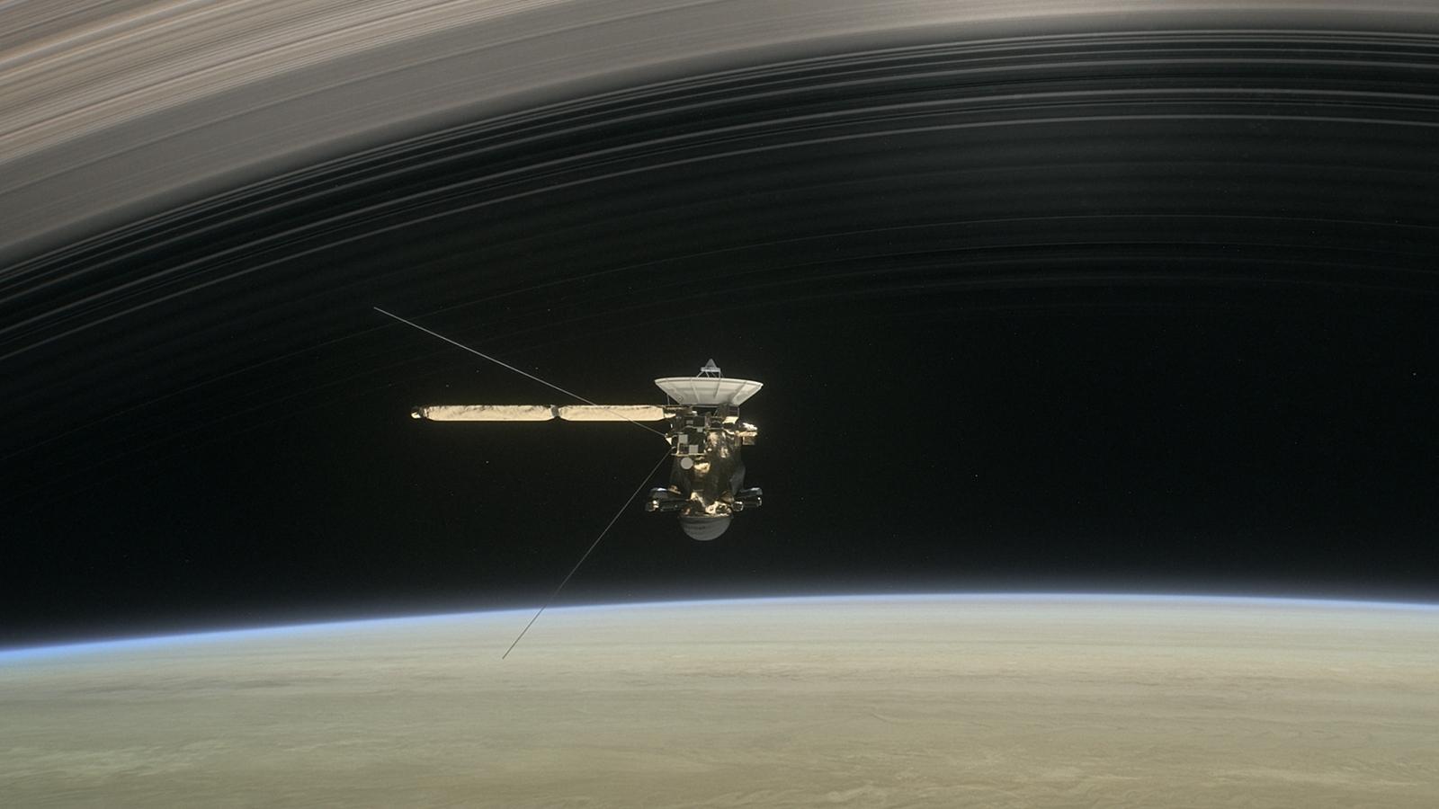 Cassini makes the plunge