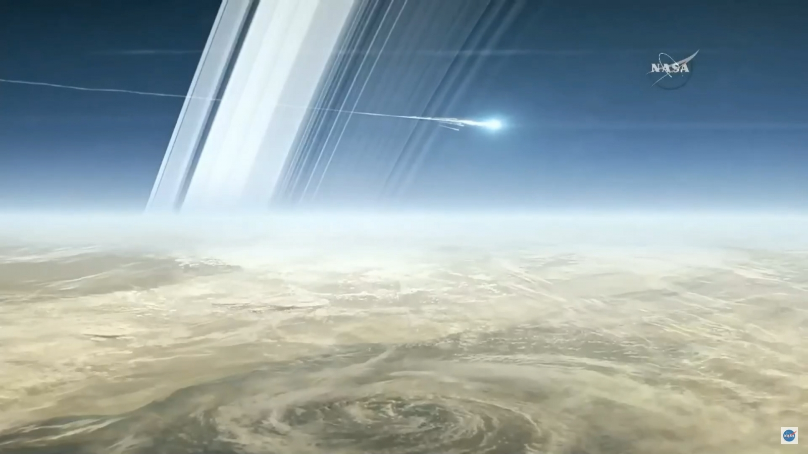 A gaggle of 7 moons keep Saturn's rings from breaking apart