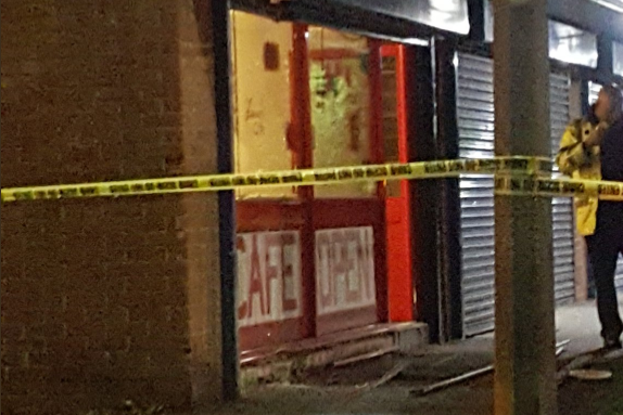 Manchester 'nail bomb' attack: Salford explosion was 'industrial firework packed with screws'