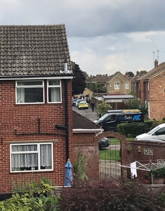 Police operation in Sunbury-on-Thames