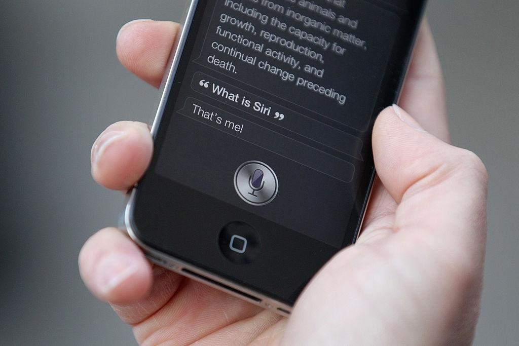 Apple Siri on iPhone