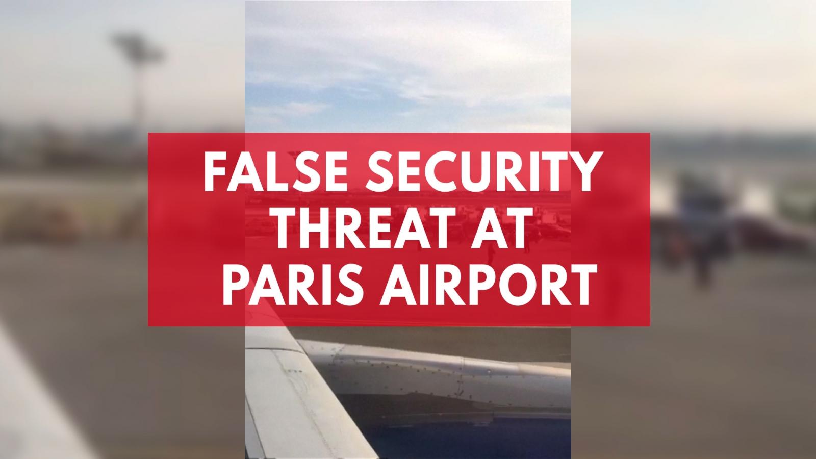 British Airways flight evacuated in Paris after security threat