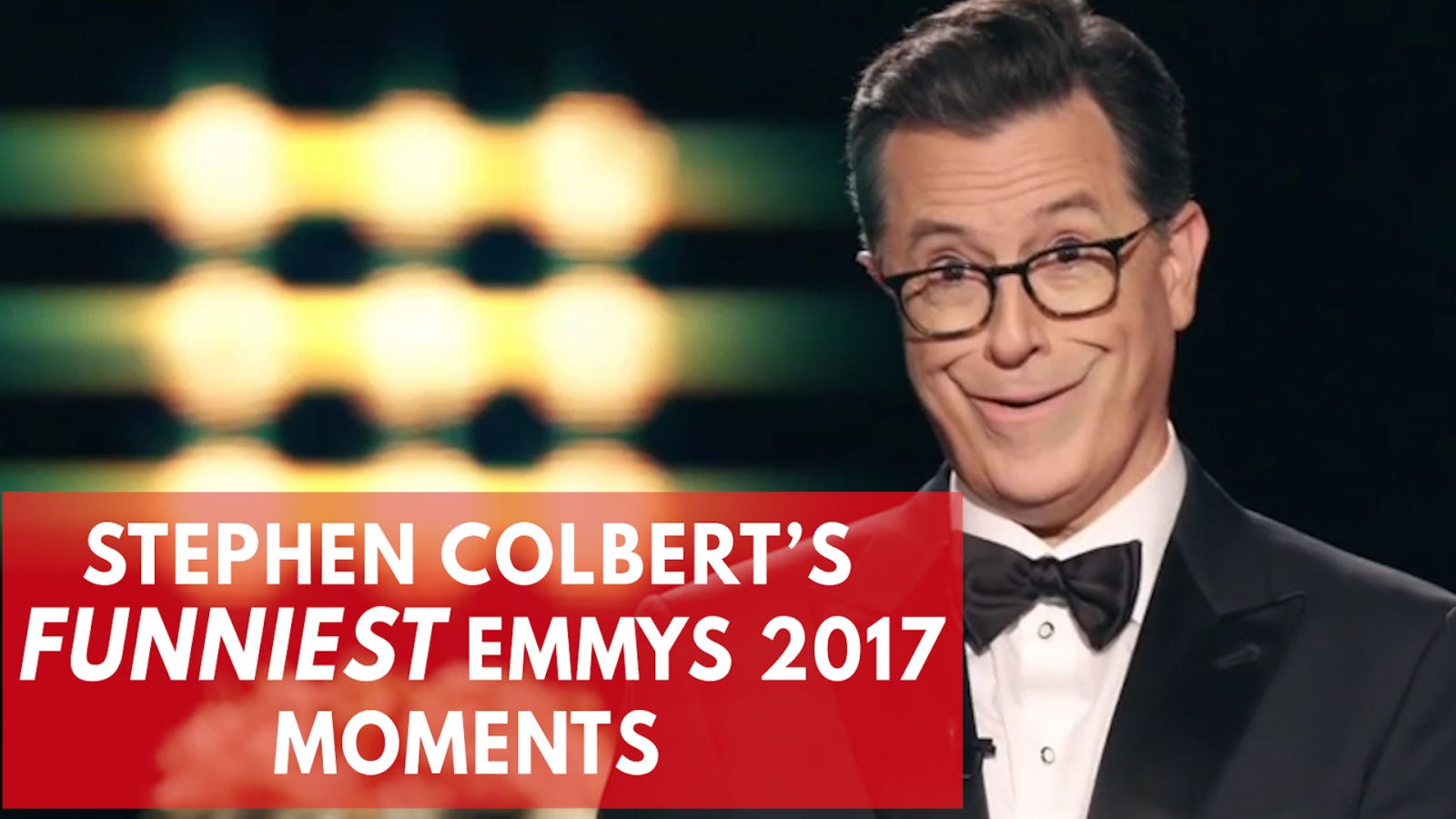 Stephen Colbert's funniest moments at the 2017 Emmys