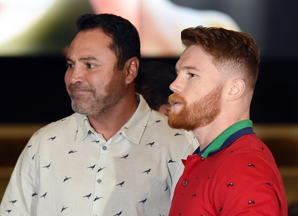 De La Hoya and Canelo