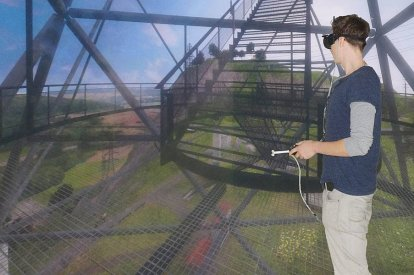 VR fear of heights cure