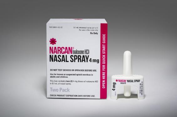 Narcan naloxone spray