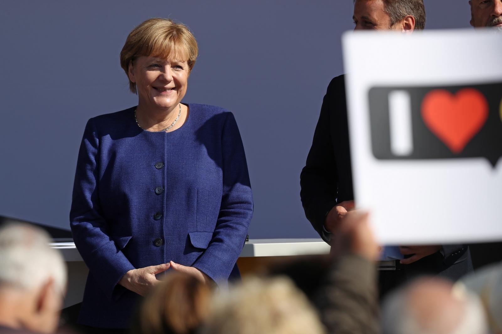 Angela Merkel election campaign