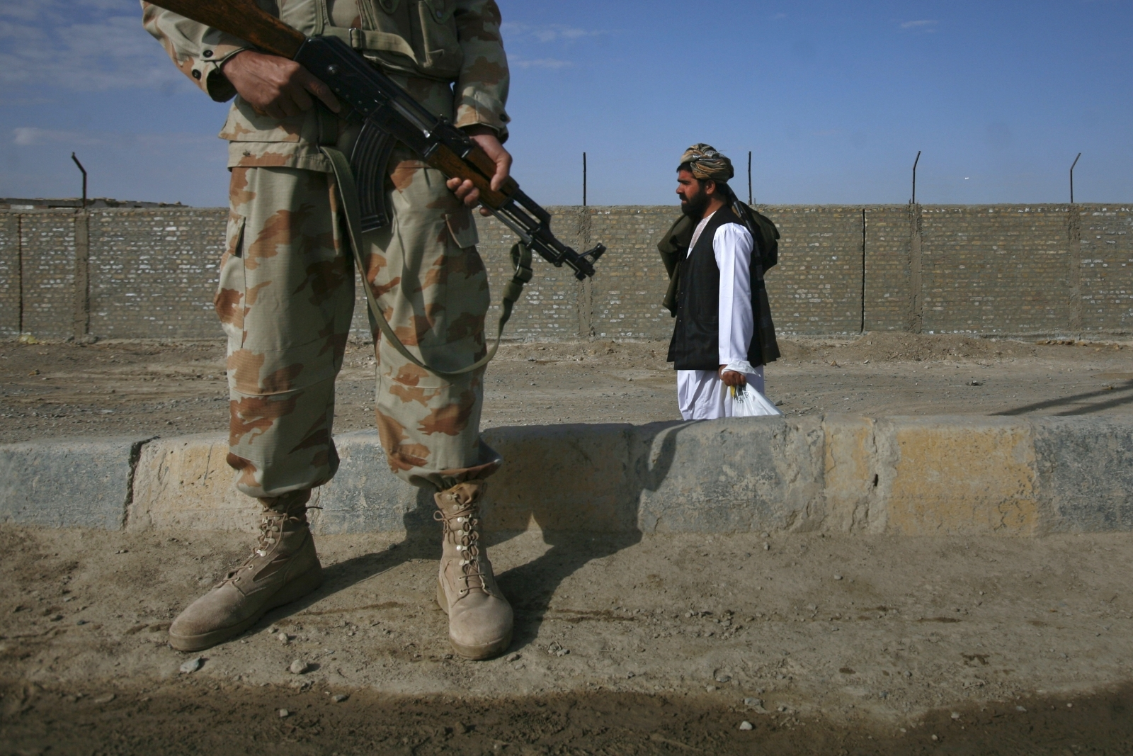 Chaman border crossing Balochistan