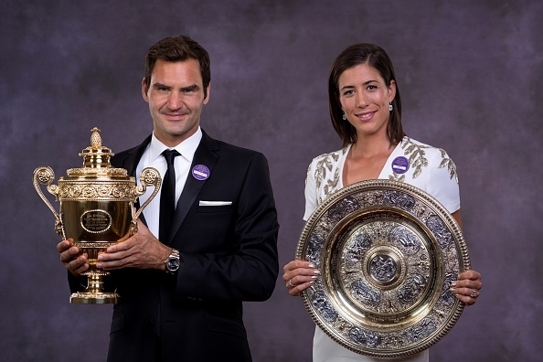 Federer and Muguruza