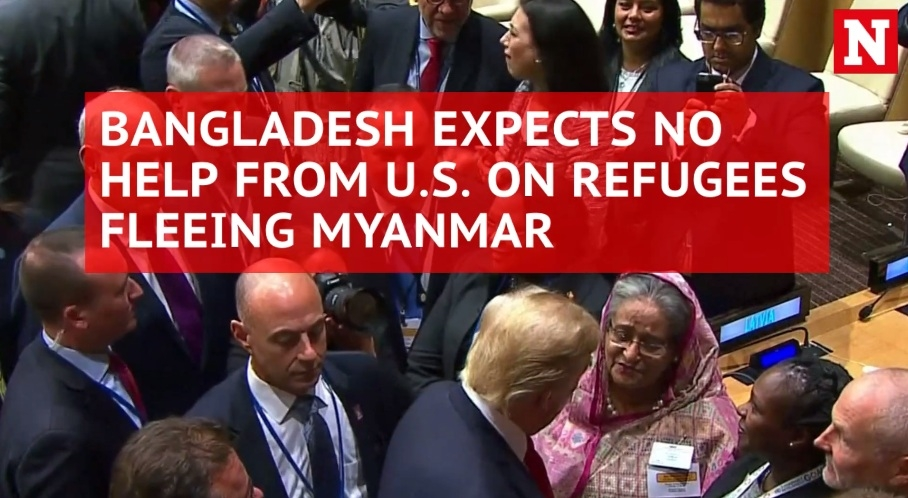 Bangladesh won't seek US help over Rohingya crisis given Trump's stance on refugees