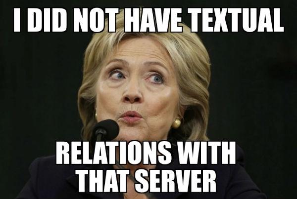 Hillary Clinton meme