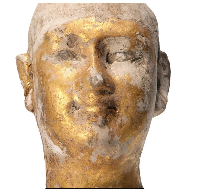 Statue head
