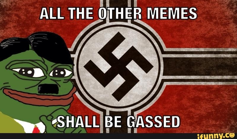 Pepe the Frog Nazi meme