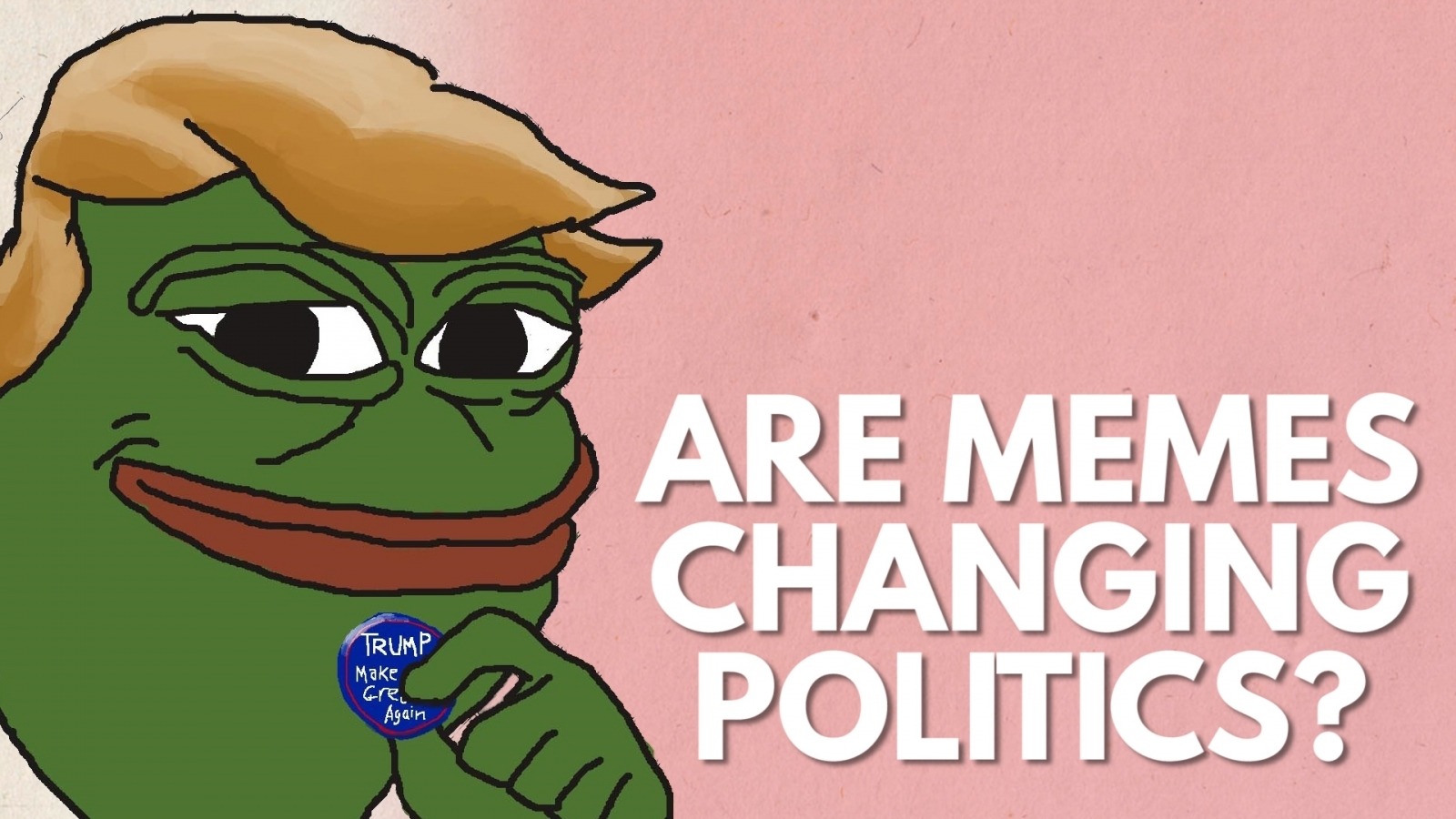 Are memes changing politics?
