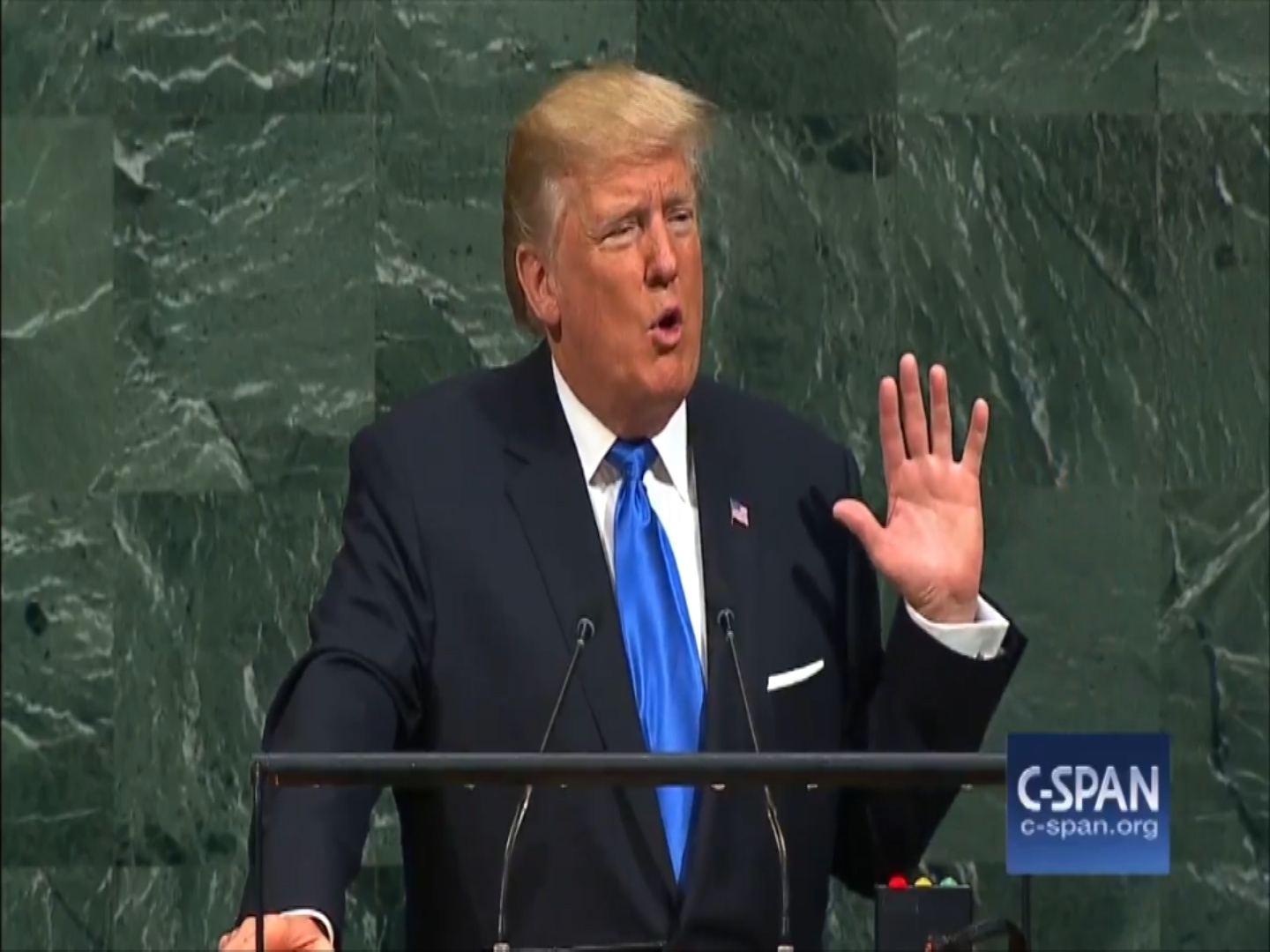 President Trump threatens to 'totally destroy' North Korea in UN speech