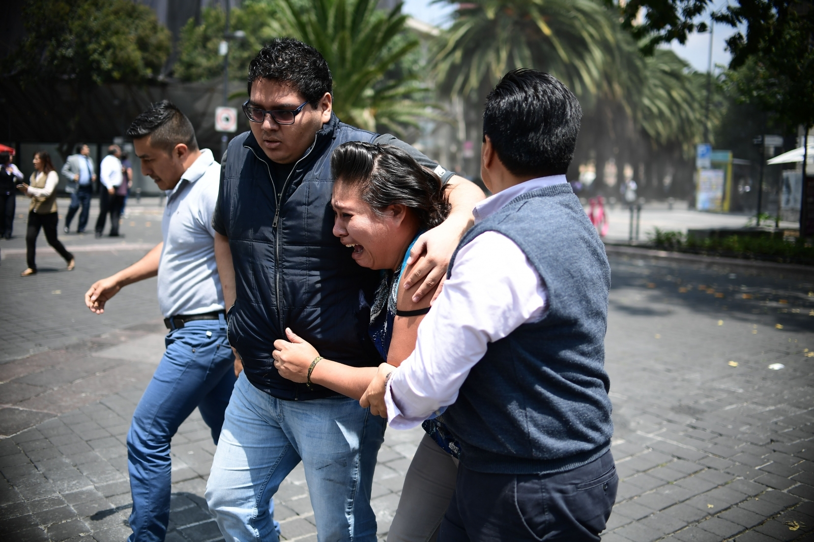 7.1-magnitude earthquake hits Mexico City on 32nd anniversary of tremor that struck capital