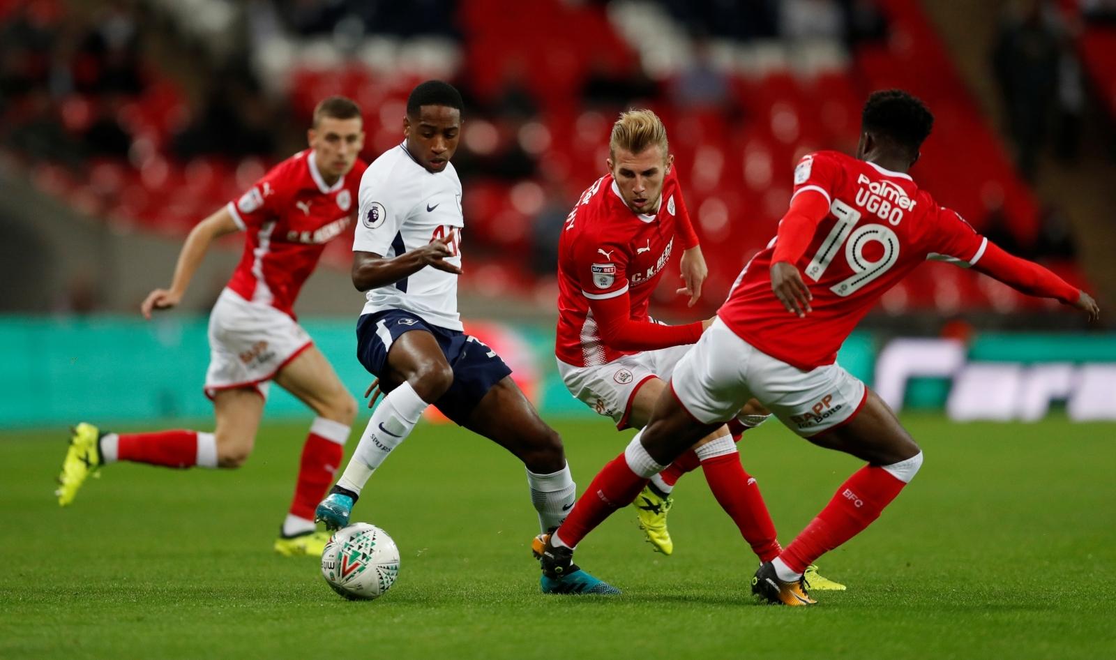 Tottenham 0-0 Barnsley: Carabao Cup third round - LIVE