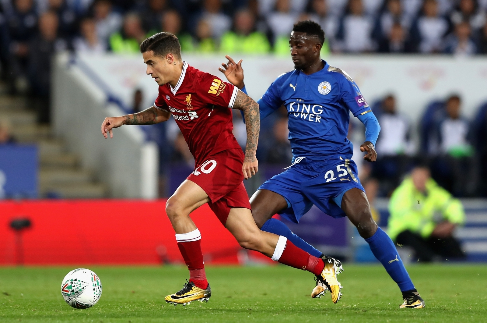 Leicester City 0-0 Liverpool: Carabao Cup third round LIVE