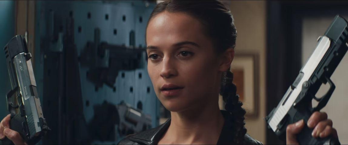 Tomb Raider 2018 Alicia Vikander