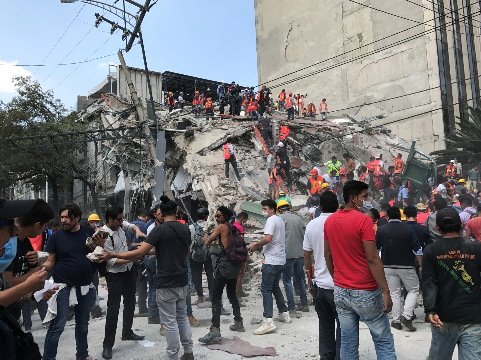 Mexico City earthquake terremoto CDMX sismo