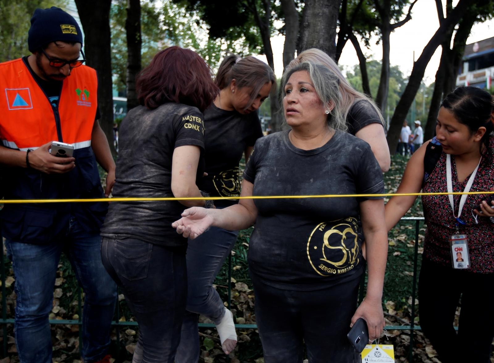 Mexico City earthquake terremoto CDMX sismo