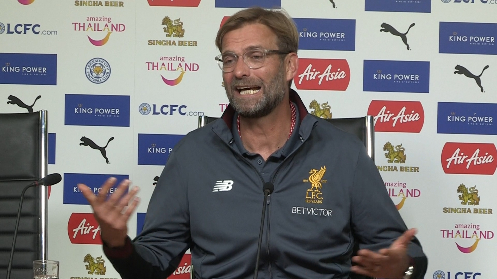 Jurgen Klopp felt 'sick' with way Liverpool conceded against Leicester