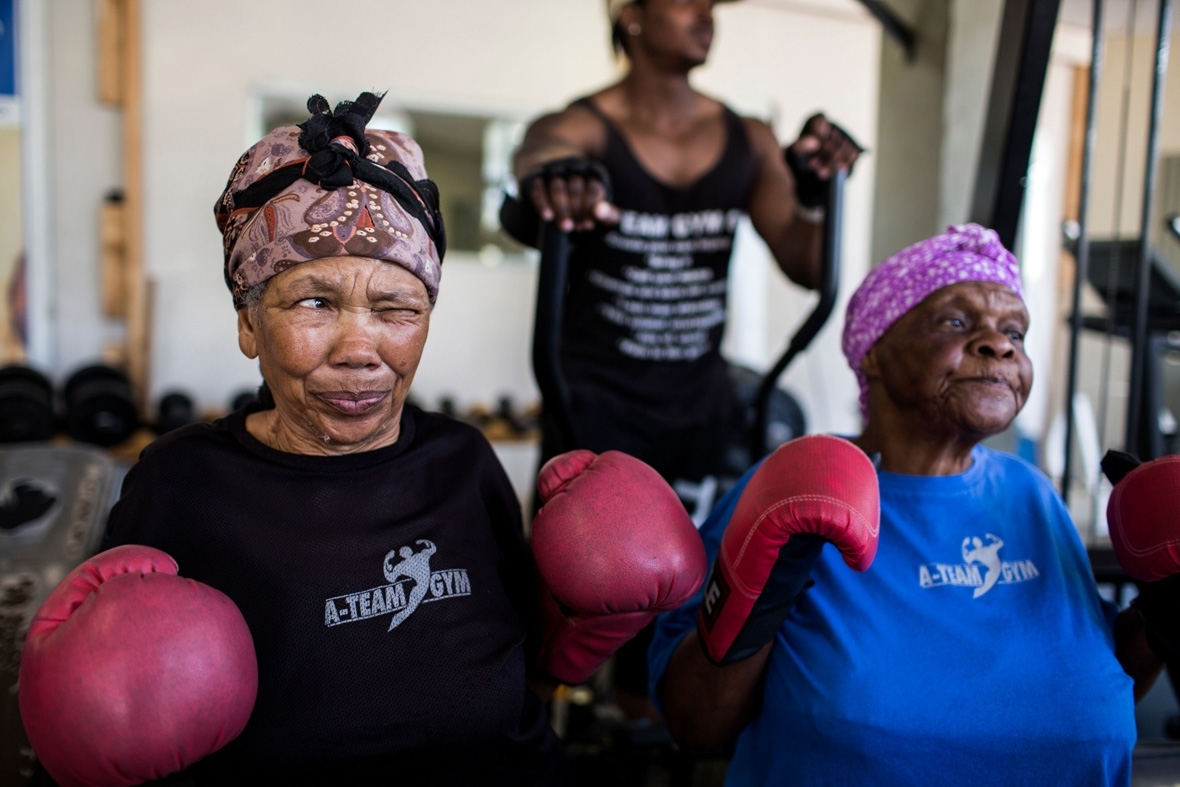 Boxing grannies boxing gogos south africa