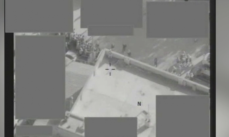 Drone disrupts Isis execution in Syria